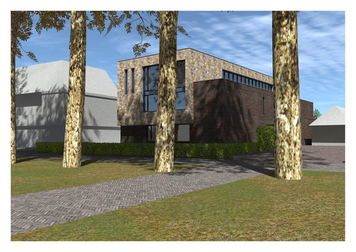 Plan voor particulier wooncomplex jongeren met een beperking aan de Kasteellaan in Wijchen